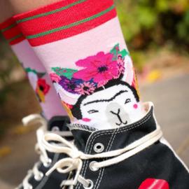 Sokken - Frida Kahlo llama