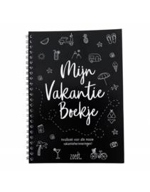 Mijn vakantie boekje (invul-dagboek)