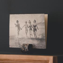 Terrazzo fotohouders grijs - set van 3