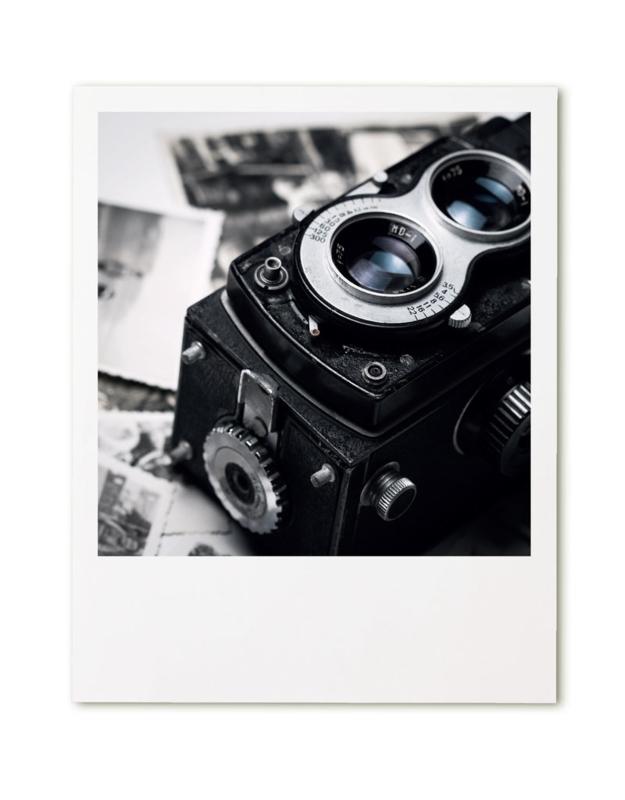 Retroprint poster 20x25cm - camera