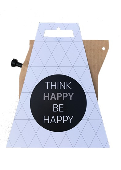 Koffie in cadeauverpakking - think happy be happy