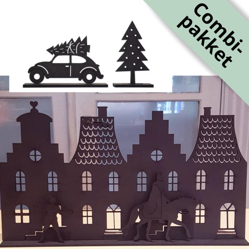 Grachtenpandjes Sinterklaas + kerstuitbreiding