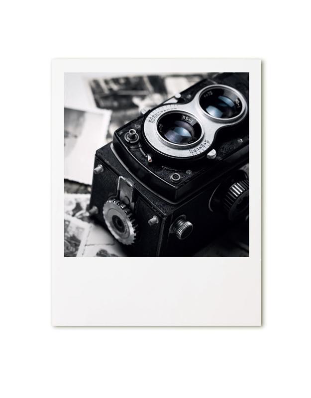 Retroprint poster 15x19cm - camera