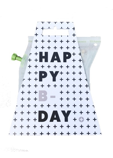 Thee in cadeauverpakking - happy b-day
