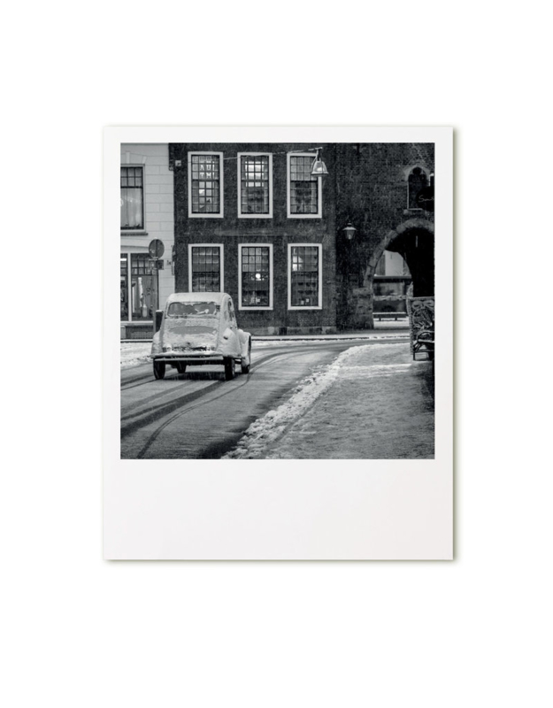 retroprint kaart - Citroën 2CV