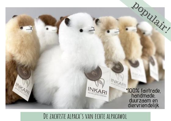 Alpaca knuffels, de zachtste alpaca's van echte alpacawol