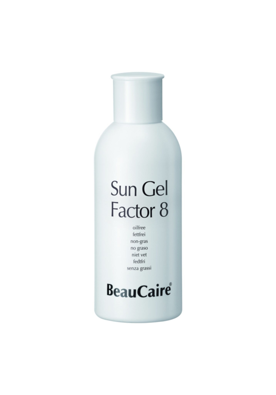 Beaucaire Sun Gel Factor 8  free of oil