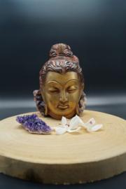 bronzen Shiva hoofd om op te hangen