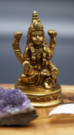 Laxmi in brons 6,5 cm