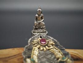 Wierookhouder buddha 22 cm x 5,5 cm