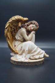 engel zittend 23 cm