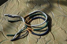 Lucky mantra bracelet set 4
