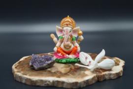 little colourful Ganesha 10 cm