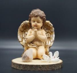 Kneeling angel 20 cm
