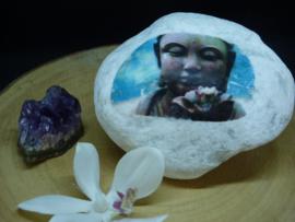 Moodstone Buddha