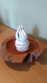 Incense holder hands of Buddha