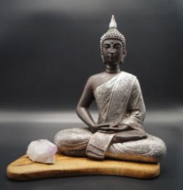 Boeddha zittend Dhyana mudra 29 cm hoog