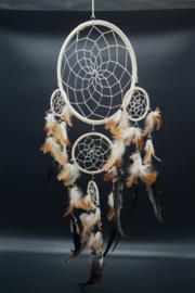 Dreamcatcher beige 21 cm