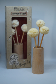 "Angels diffuser with flowers ""flower shop"""