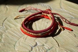 Lucky mantra bracelet set 2