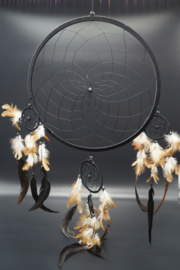 Dreamcatcher black 32 cm
