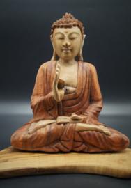 Buddha Suarhout 26 cm x 22 cm