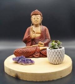 Sitting Buddha 28 cm