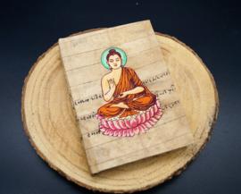 Notitieboekje Boeddha 13 cm