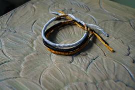 Lucky mantra bracelets set 3