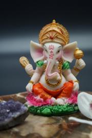 Kleine kleurrijke Ganesha 10 cm