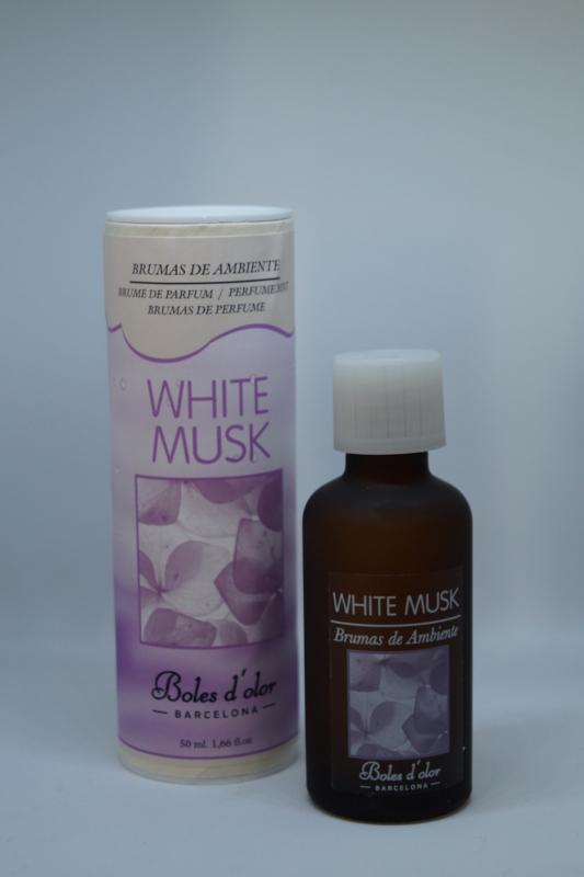 """Geurolie Brumas de ambiente """"white musk"""" 50 ml"""