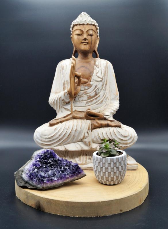 Zittende Boeddha 42 cm