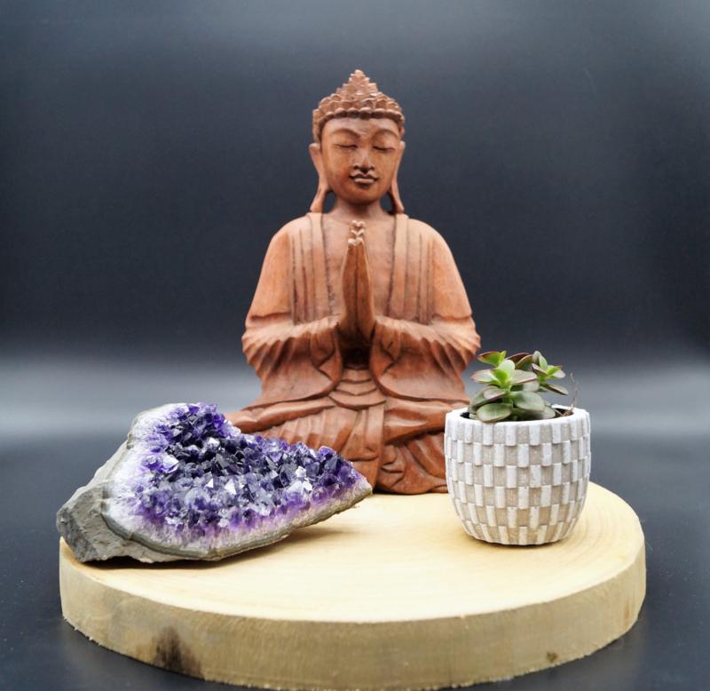 Zittende Boeddha 28 cm