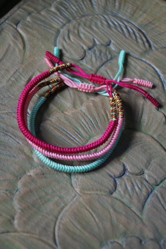 lucky mantra bracelet set 1