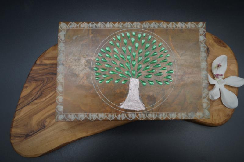Tarotdoos tree of life speksteen