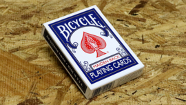 Bicycle playing cards mandolin back