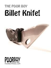 The Poor Boy - Billet Knife