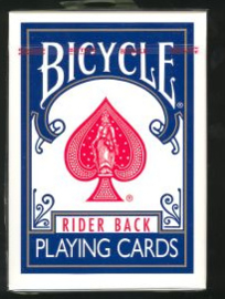 bicycle playing cards rider back