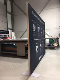 Textieldoek staandframe 44mm   prijs/m2