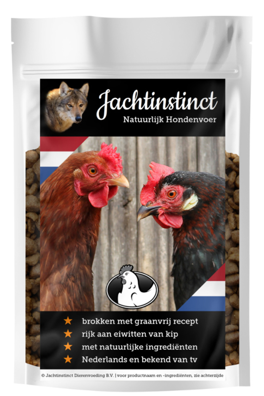 Hunting Instinct Dry Food for Dogs | Chicken Grain Free
