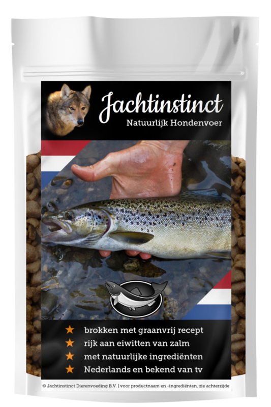 Hunting Instinct Dry Food for Dogs | Salmon Grain Free
