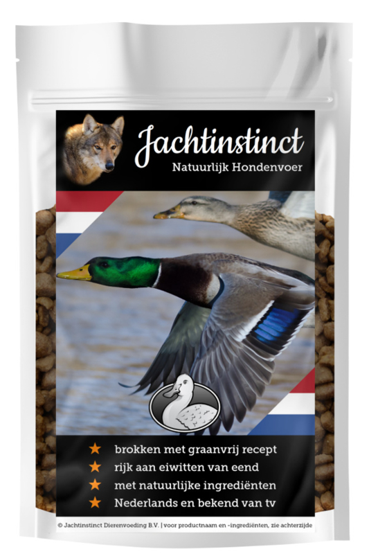 Hunting Instinct  Dry Food for Dogs | Duck Grain Free