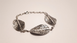 Tibetaans zilveren armband