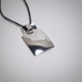Zilveren hanger - 2 zijdig