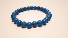 Armband van blauwe turkoois