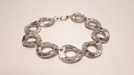 Tweezijdig te dragen armband van Tibetaans zilver