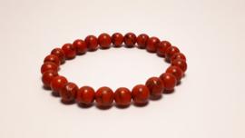 Armband van rode turkoois