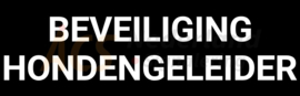 LED BEVEILIGING HONDENGELEIDER normaal