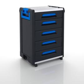 WorkMo 24-750 met 5 schuifladen