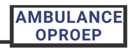 LED AMBULANCE OPROEP WIT normaal
